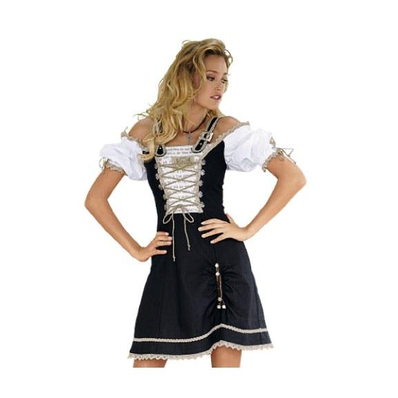 Trachtenkleider sind ein Bestandteil der traditionellen Trachtenmode ...